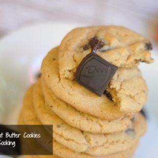 dove dark chocolate peanut butter cookies