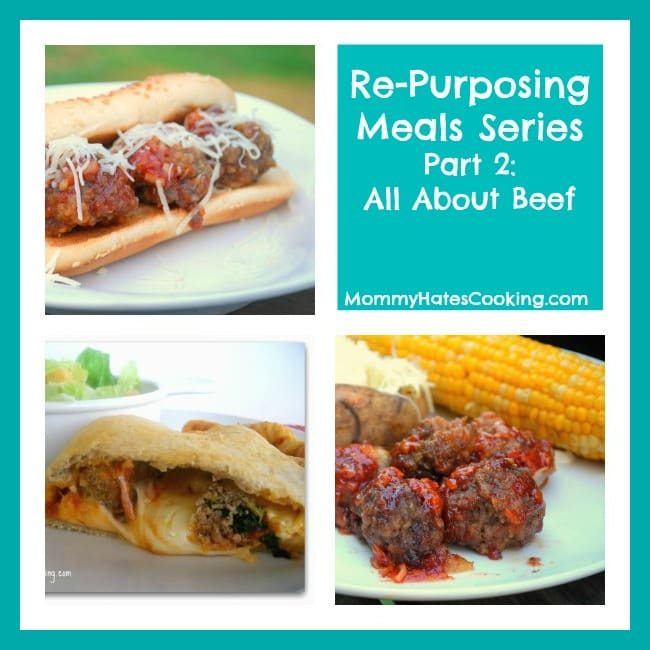 re purposing meals all about beef