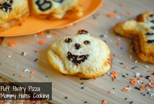 Mummy Pizza Puffs Recipe — Dishmaps