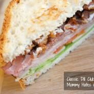 classic dill club sandwich