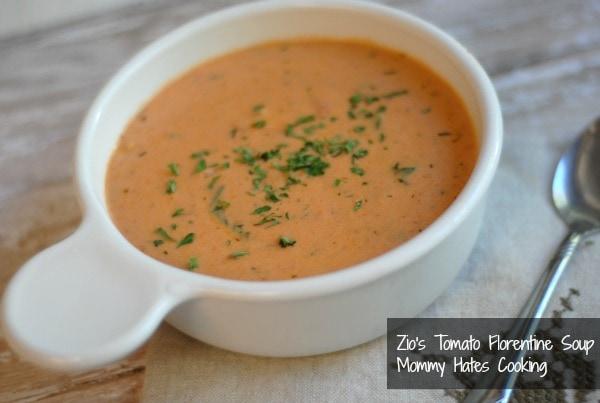 zio's tomato florentine soup