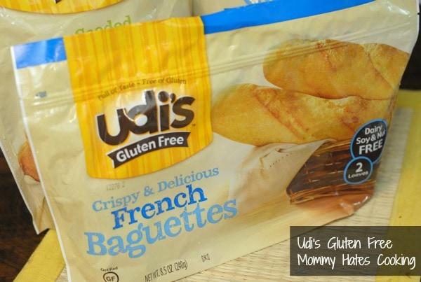 udi's gluten free baguettes