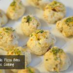 cheesy garlic pizza bites