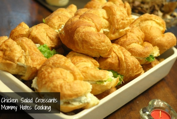 Chicken Salad Croissants Mommy Hates Cooking