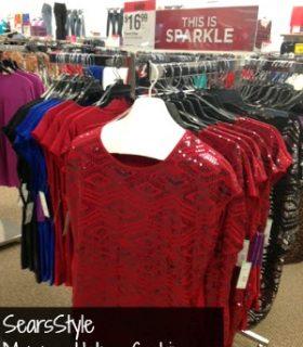 Holiday Shopping with SearsStyle & Shop Your Way