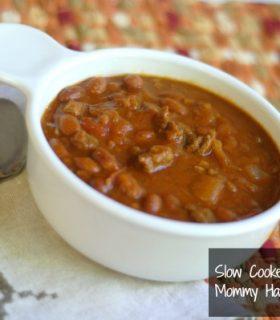 Freezer Cooking:  Slow Cooker Pumpkin Chili