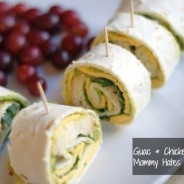 Guac & Chicken Pinwheels