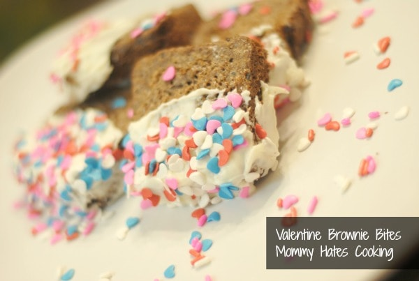 white chocolate covered brownies