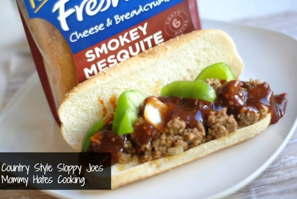 Country Style Sloppy Joes