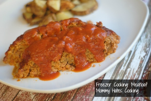 Freezer Cooking:  Meatloaf