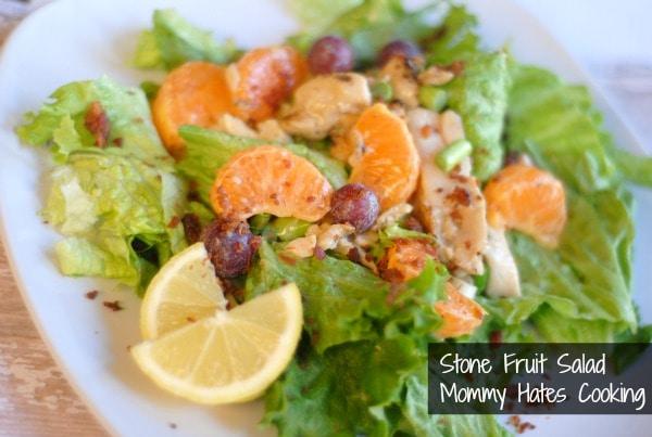 Stone Fruit Salad I Mommy Hates Cooking