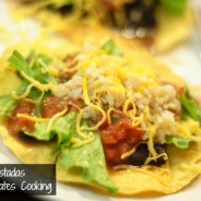 meatless tostadas