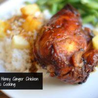 Slow Cooker Honey Ginger Chicken