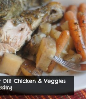 Slow Cooker Dill Chicken & Veggies