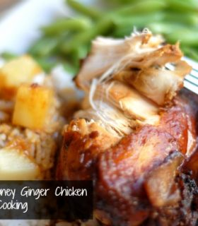 Slow Cooker Honey Ginger Chicken