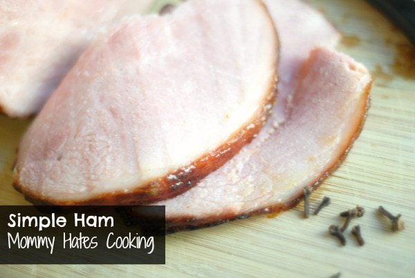 peaches baked easter ham recipe video martha stewart classic baked ham ...