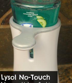 No-Touch Lysol Soap