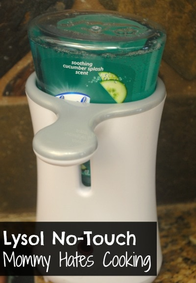 No-Touch Lysol Soap