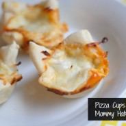 Pepperoni & Spinach PIzza Cups