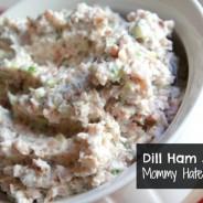 Dill Ham Salad