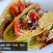 Smokey Mesquite BBQ Steak Tacos