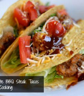 Smokey Mesquite BBQ Steak Tacos