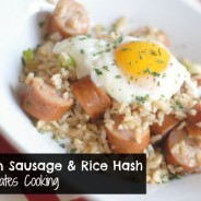 Chicken Sausage & Rice Hash