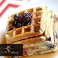 Wildberry Waffles