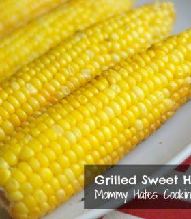 Grilled Sweet Honey Corn