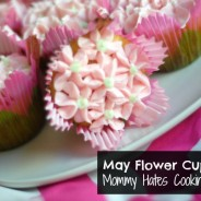 May Flower Cupcakes