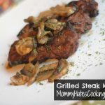Grilled Steak Marsala