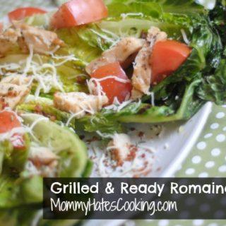 Grilled Romaine Chicken Salad