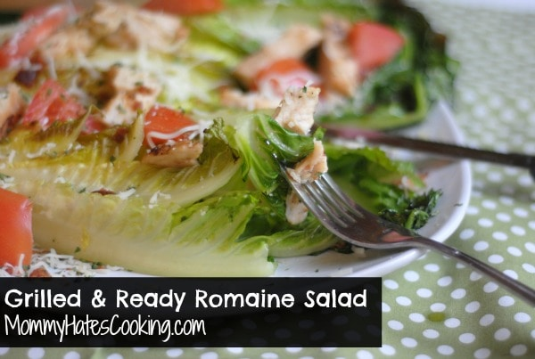 Grilled Romaine Chicken Salad