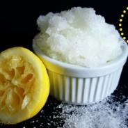 Citrus Salt Soak