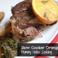 Slow Cooker Orange Roast