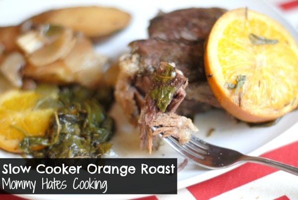 Slow Cooker Orange Roast