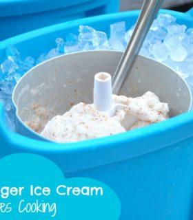 Butterfinger Ice Cream & Make Bake Create