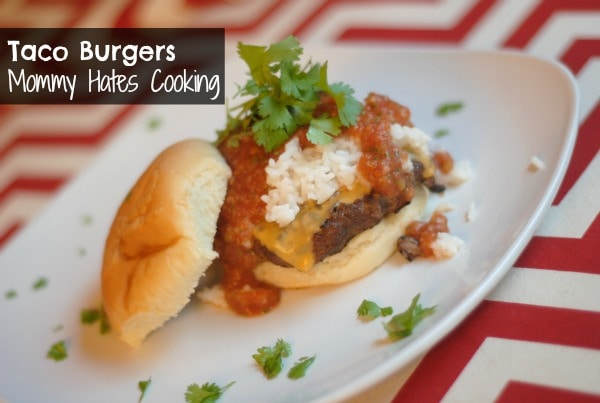 ... burger into a delicious taco burger by adding some Restaurant Style