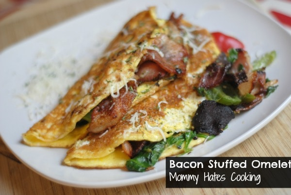 Bacon Stuffed Omelet