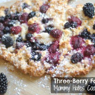 Three-Berry Focaccia