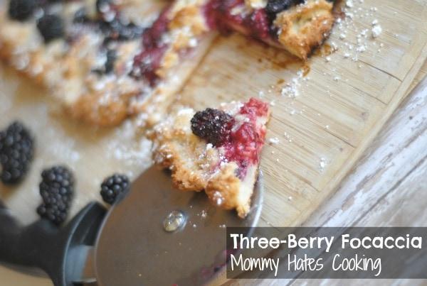 Berry Focaccia