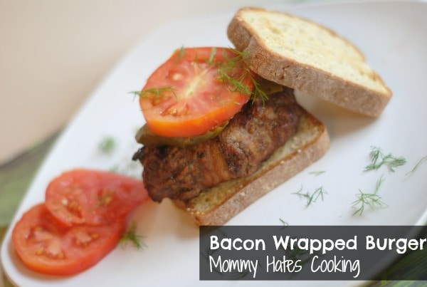 Bacon Wrapped Burgers
