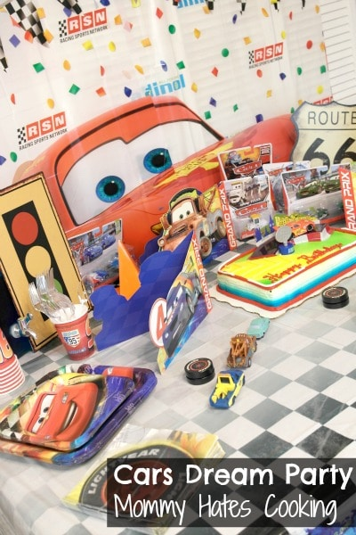 Cars Dream Party
