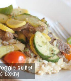 Steak & Veggie Skillet