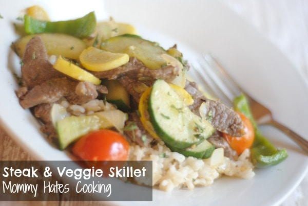 Steak & Veggie Skillet
