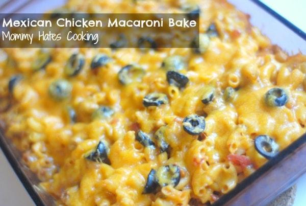 #Ad Mexican Chicken Macaroni Bake #CreateAMeal #cbias
