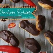Thornton's Chilli Chocolate Eclairs with Cinnamon Custard Cream Recipe
