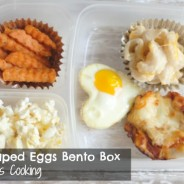 Heart Shaped Eggs Bento Box