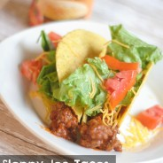 Sloppy Joe Tacos