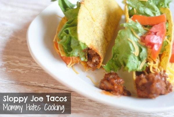 Sloppy Joe Tacos #Manwich